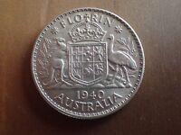1940 Australian Florin EF ( Lot 2245)