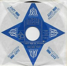 THE BOX TOPS  I Met Her In Church / People Gonna Talk  original 45 from 1968