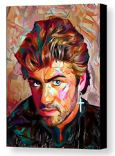 Framed George Michael Wham Abstract 9X11 Art Print Limited Edition w/signed Coa