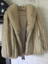 VINTAGE Saga Fox blue fox fur coat