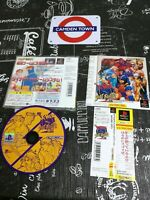 X-Men Vs Street Fighter Ex Edition Psx Ps1 Japan w/Obi Complete & Mint Perfetto