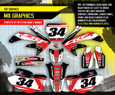 2008 HONDA CRF 450 R DIRT BIKE GRAPHICS KIT CRF450R MOTOCROSS  MX DECALS