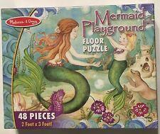 Melissa & Doug - MERMAID PLAYGROUND Floor Puzzle - *NEW SEALED*