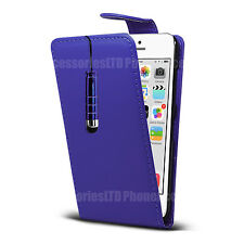 Flip Case Leather Cover Grip For Apple IPhone 3GS 4 4S 5 5S 5E 6 6S 6 6S Plus