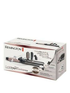 Remington Curl & Straight Confidence Rotating Hot Air Styler Ex Display rrp £60