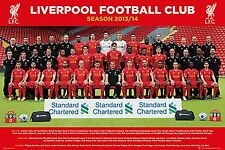 SOCCER POSTER Liverpool Team