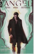 Angel #1 cover B comic book Season 11 Tv show series Joss Whedon Buffy Illyria