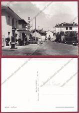NOVARA MOMO 07 DISTRIBUTORE POMPA BENZINA OZO Cartolina FOTOGRAFICA 1955