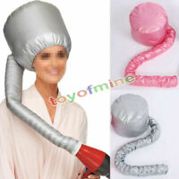 1PC Portable Soft Hair Drying Cap Bonnet Haircare Hood Hat Blow Dryer Attachment