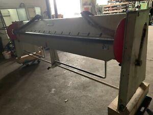 Schwenkbiegemaschine Cidan 3m - 1 mm - mit Rechnung