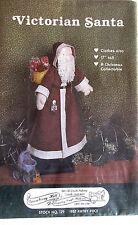 "Gooseberry Hill Vintage 17"" Victorian Santa Doll Pattern"