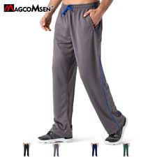 Loose Fit Yoga Pants Men's Mesh Running Pants Quick Dry Joggers Pants Trousers