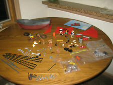 Playmobil Pirate Ship 3174 Pirates Boat Accessories LOT toy parts pieces only