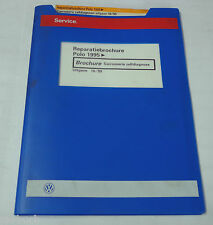 Reparatiebrochure VW Polo 6 N Carrosserie zelfdiagnose ab 1995