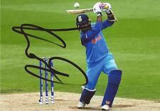 INDIA: DINESH KARTHIK SIGNED 6x4 ODI ACTION PHOTO+COA