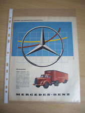 MERCEDES BENZ - ORIGINAL VINTAGE ADVERTS 4 TO CHOOSE FROM