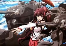 Kan Colle Kantai Collection / Fate/stay night poster promo anime girl official