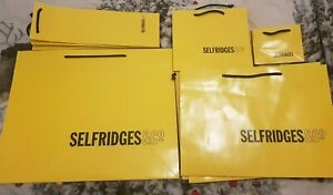 Selfridges, Gift Bags, Empty, Used, nice condition