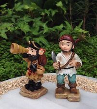 Miniature Dollhouse FAIRY GARDEN ~ Ocean UNDER THE SEA Pirate Set of 2 Pirates