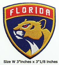Florida Panthers Hockey NHL Sport Patch Logo Embroidery Iron,Sewing on Fabric