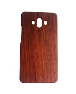 Schutzhülle für Huawei Mate 10 aus Narrabaum-Holz Case Backcover mit Holzrahmen