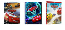 Cars 1-3 1 2 3 DVD Movie Trilogy Disney Pixar Bundle Brand New USA Sealed Box