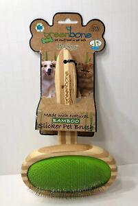 Greenbone Bamboo Slicker Pet Brush Pet Spa New
