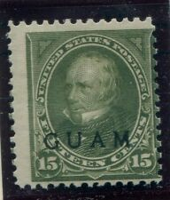 United States Possessions, Guam, Scott#10, 15-Cent, Henry Clay, Nh