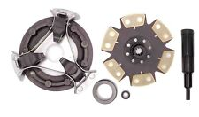 "Ford Nh Compact Tractor 8 1/2"" Single Stage Clutch Kit with Hd6 Pad Clutch Disc"