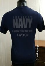 America'S Navy - A Global Force For Good - Reflective Sportswear Shirt Lg *Note