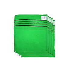 Korean Body Scrub Shower Glove 5ea (aka italy towel) <RANDOM COLOR>