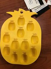 Pineapple Mold Silicone Ice Cube Tray Design Soap Candy Clay Mold Brand New