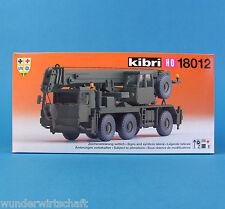 Kibri H0 18012 LIEBHERR LTM 1050/3 Mobil-Kran Bausatz Bundeswehr NATO HO 1:87