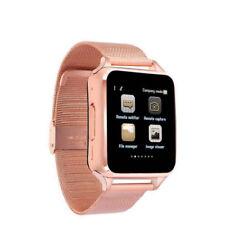 Premium SmartWatch S8 ROSEGOLD Bluetooth Uhr iOS Android Samsung SIM Metall GOLD