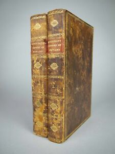 1827 The Works Of William Robertson: The History Of Scotland - Two Volumes.