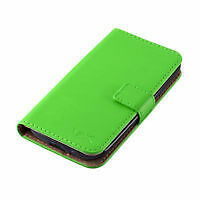 Green Wallet Case for iPhone 5s