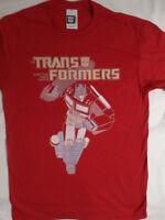 Transformers Cartoon Optimus Prime Red T-Shirt