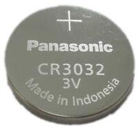 Panasonic CR3032 3V Lithium Battery 2PACK X (5PCS) =10 Single Use Batteries