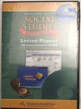 Social Studies Tennessee Houghton Mifflin Lesson Planner CD