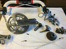 Shimano Dura Ace 7800 Full group-set, Wires / Cables, Cranks, Bonus pedals
