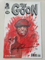 THE GOON #22 (2008) DARK HORSE COMICS AUTOGRAPHED by ERIC POWELL with COA!