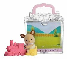 Sylvanian Families BABY HOUSE LOCOMOTIVE Epoch Japan B-35 Calico Critters