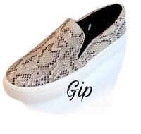 Women's Bibi Sneakers A New Day Faux Snake Skin Print Shoes Size 9.5