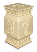 Large/Adult 184 Cubic Inch Angel's Garden Stone Funeral Cremation Urn for Ashes