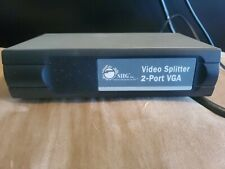 VGA Splitter With 6 Foot VGA & 25 Foot VGA & 3.5 Audio