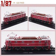 1:87 HO Scale Urban Rail Trolley E19 12 (1940) Display 3D Plastic Static Model