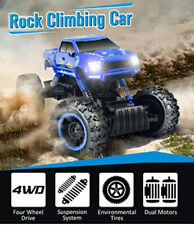 DOUBLE E 1:12 RC Cars Monster Truck 4WD Dual Motors Rechargeable Off Road Remote