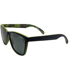 New Polarized 8825 CAMO 1 Army Green Frame Black Lens Sunglasses