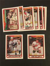 1990/91 Topps New Jersey Devils Team Set 18 Cards