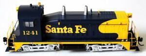HO Walthers Proto 2000 Santa Fe SW9/1200 Diesel Loco Rd. #1241 w/DCC & Sound